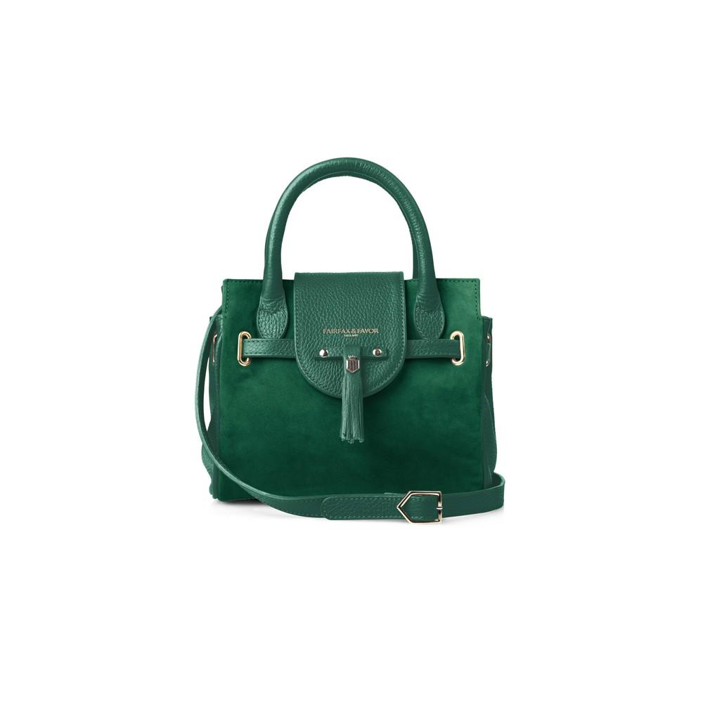 Fairfax & Favor Fairfax & Favor Mini Windsor Handbag - Emerald Green