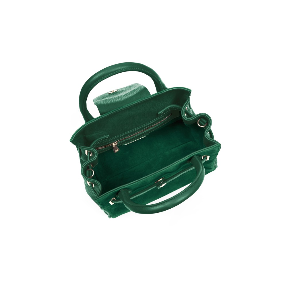 Fairfax & Favor Mini Windsor Handbag Emerald Green