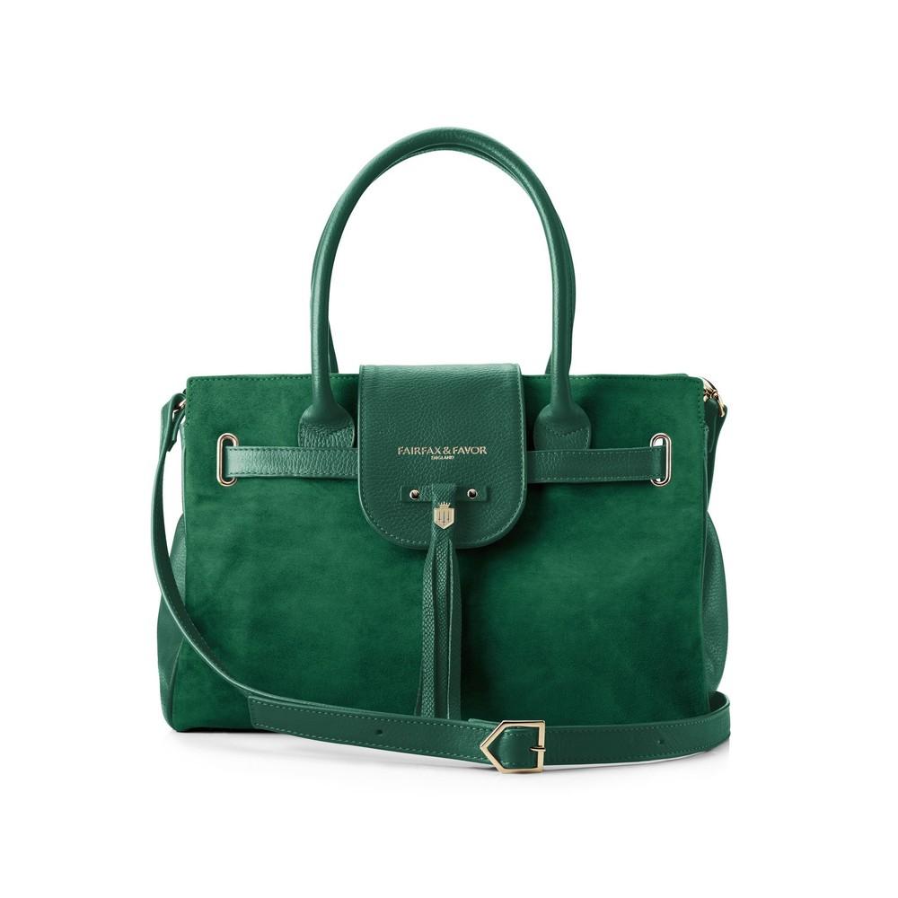 Fairfax & Favor Fairfax & Favor Windsor Handbag - Emerald Green