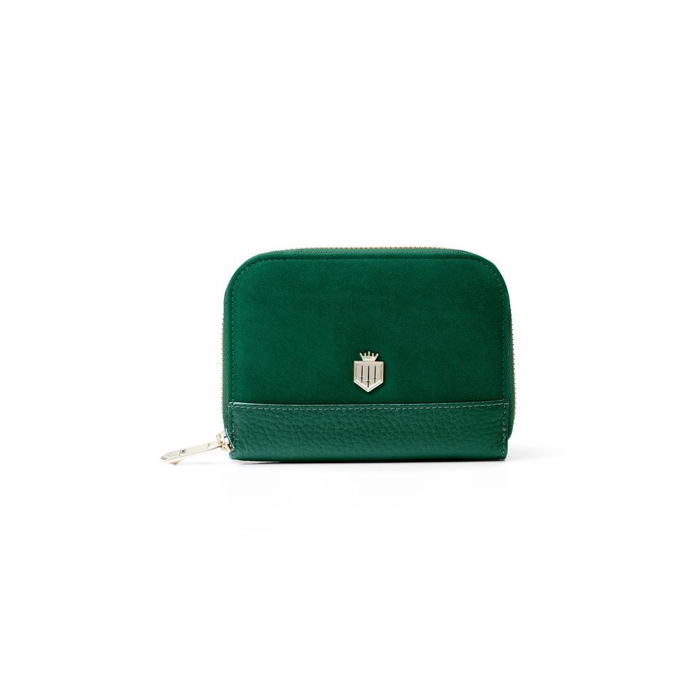 Fairfax & Favor Fairfax & Favor Mini Salisbury Purse - Emerald Green
