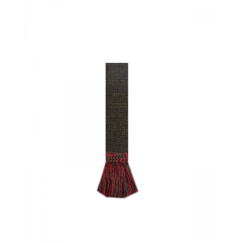 House of Cheviot Bowhill sock with Garters Spruce