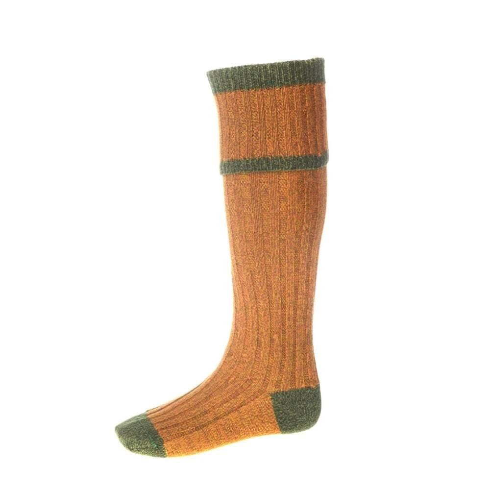 House of Cheviot House of Cheviot Kyle Sock with Garter - Wildbroom