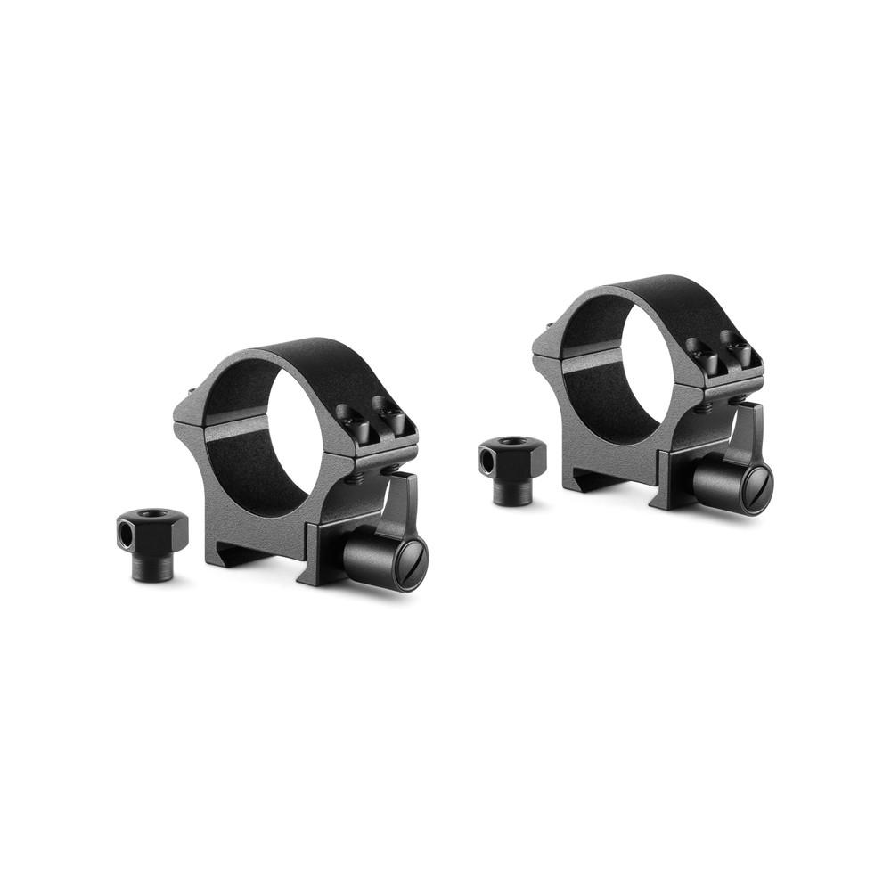 Hawke Pro Steel Ring Mounts Black
