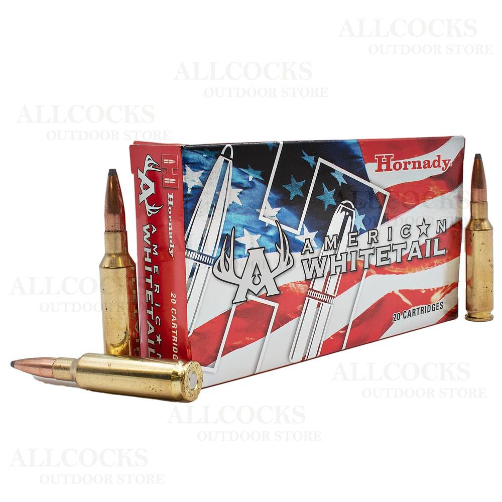 Hornady 6.5 Creedmoor Ammunition - 129gr - American Whitetail BTSP