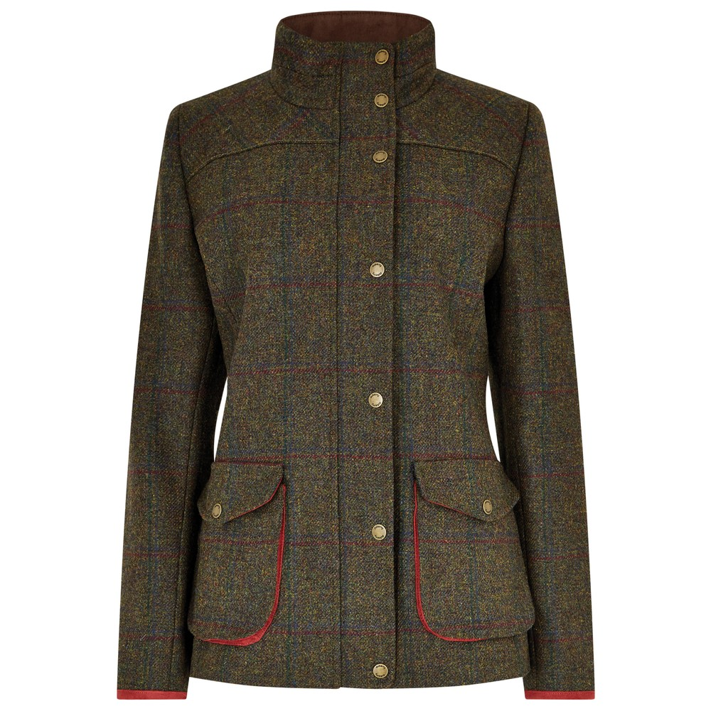 Dubarry of Ireland Dubarry Betony Tweed Jacket - Hemlock