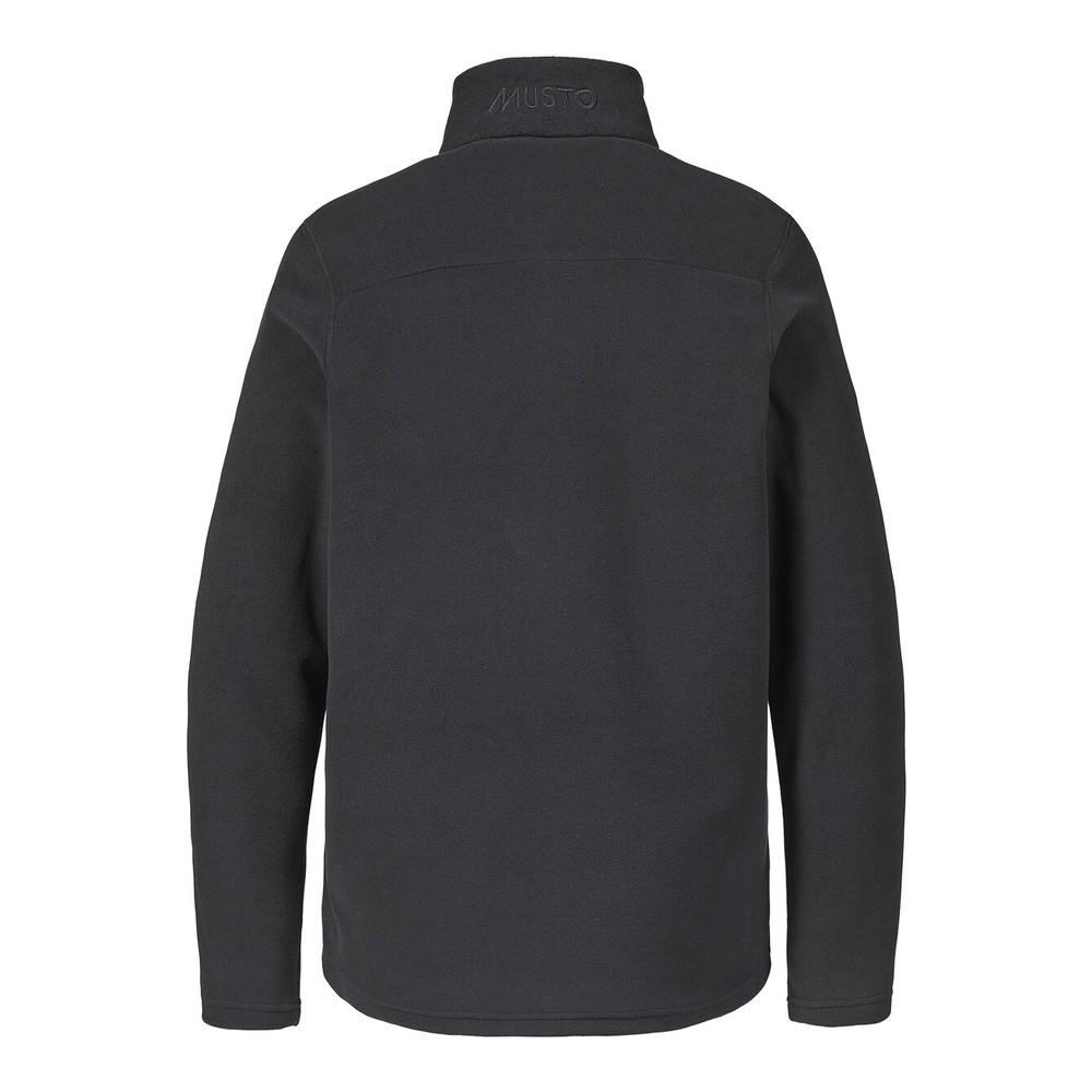 Musto Corsica 100gm 1/2 Zip Fleece Black