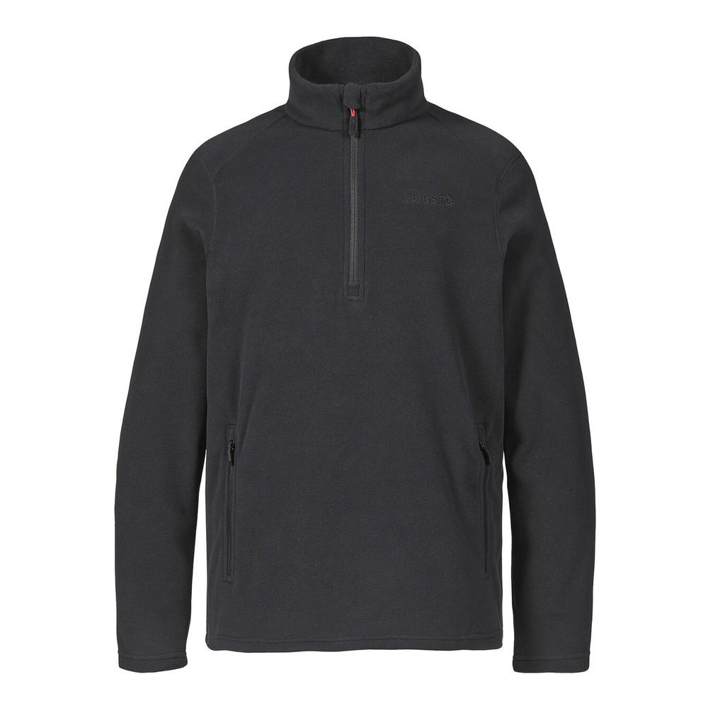 Musto Musto Corsica 100gm 1/2 Zip Fleece - Black