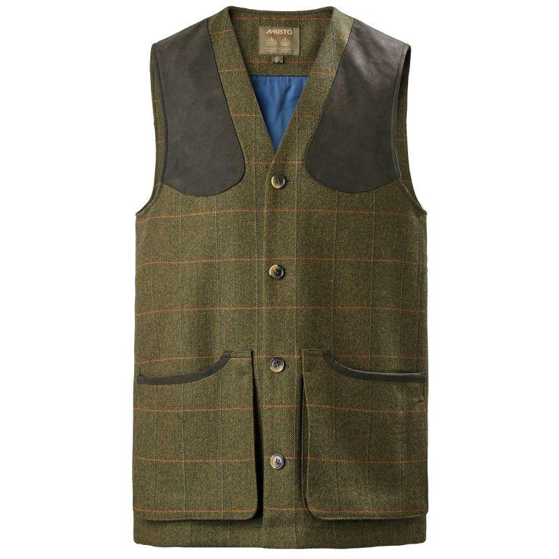 Musto Light Machine Washable Tweed Waistcoat