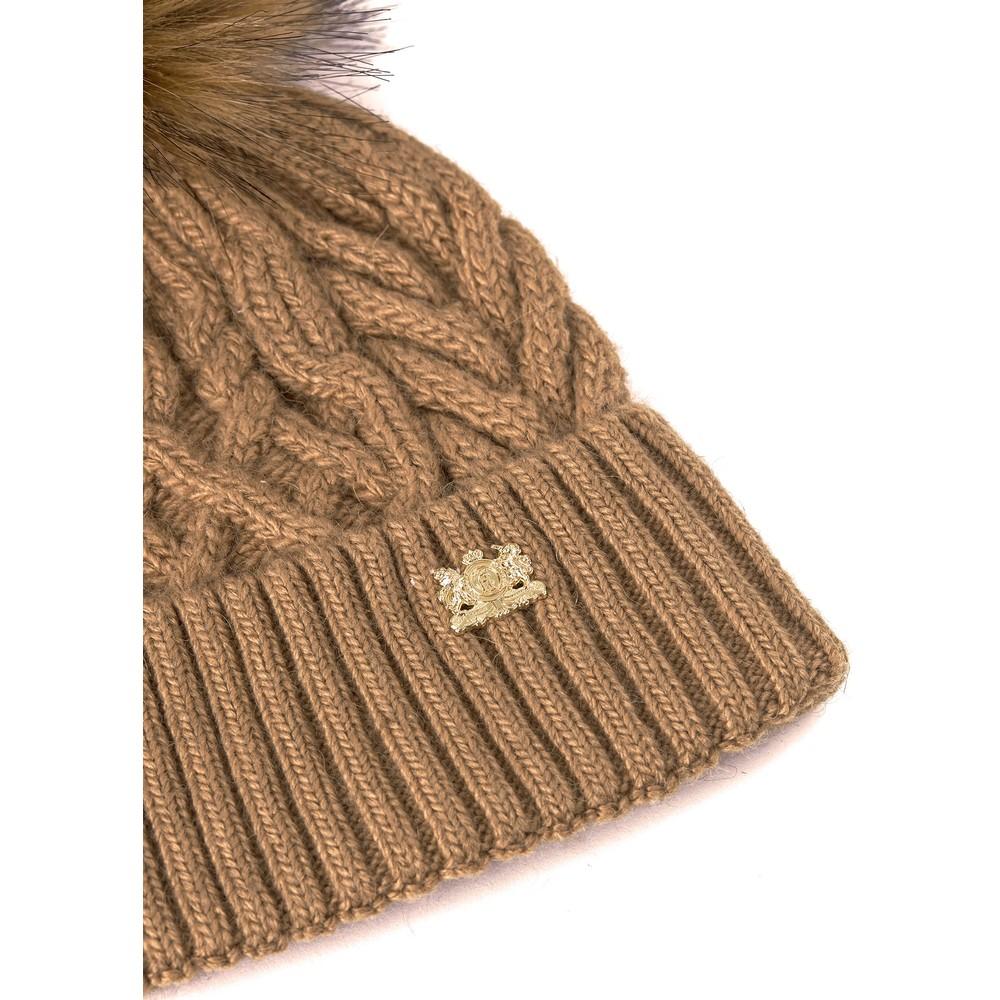 Holland Cooper Windsor Bobble Hat Camel