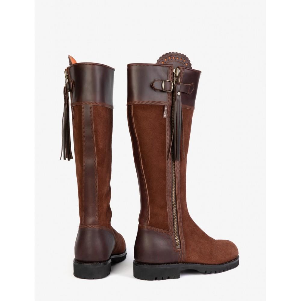Penelope Chilvers Inclement Long Tassel Boot Chestnut