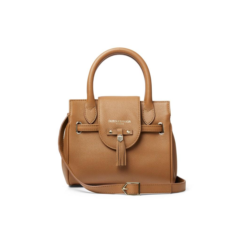 Fairfax & Favor Fairfax & Favor Mini Windsor Handbag - Tan Leather