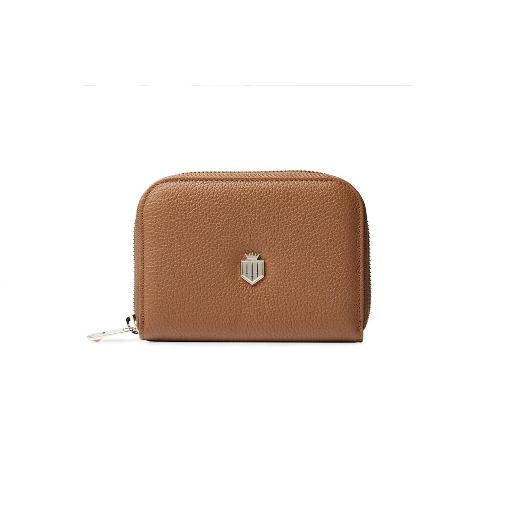 Fairfax & Favor Fairfax & Favor Mini Salisbury Purse - Tan Leather