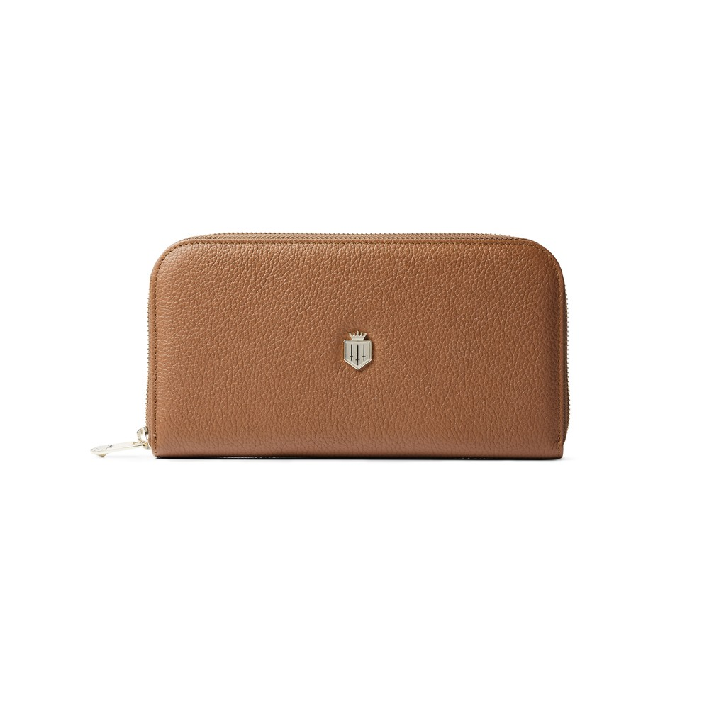 Fairfax & Favor Fairfax & Favor Salisbury Purse - Tan Leather