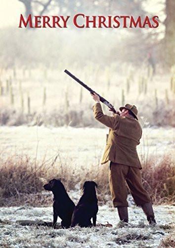 Countryside Greetings Countryside Greetings Charles Sainbury-Plaice Boxing Day Shooting Christmas Card - Shooter