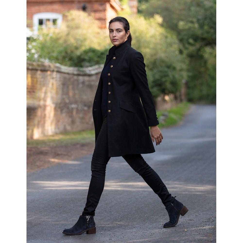 Anna Lascata Alexandra Coat Black