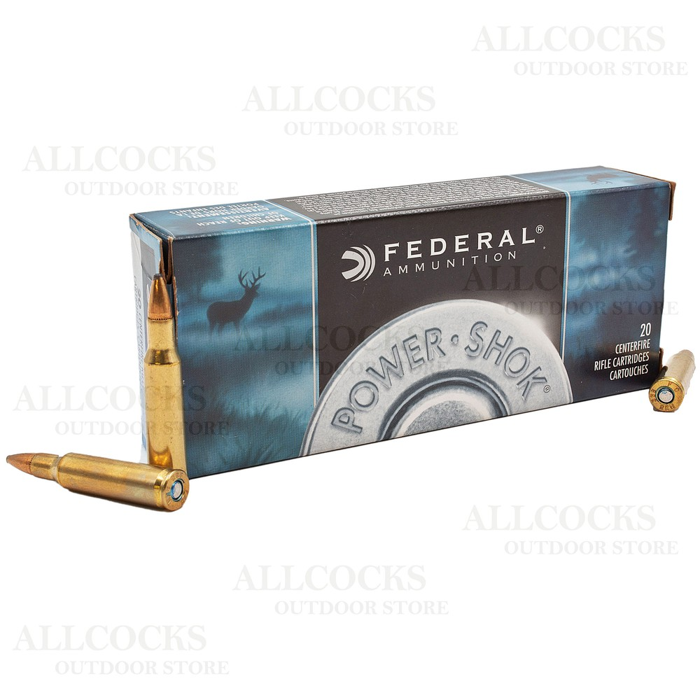 Federal .222 Ammunition - 50gr - Power-Shok