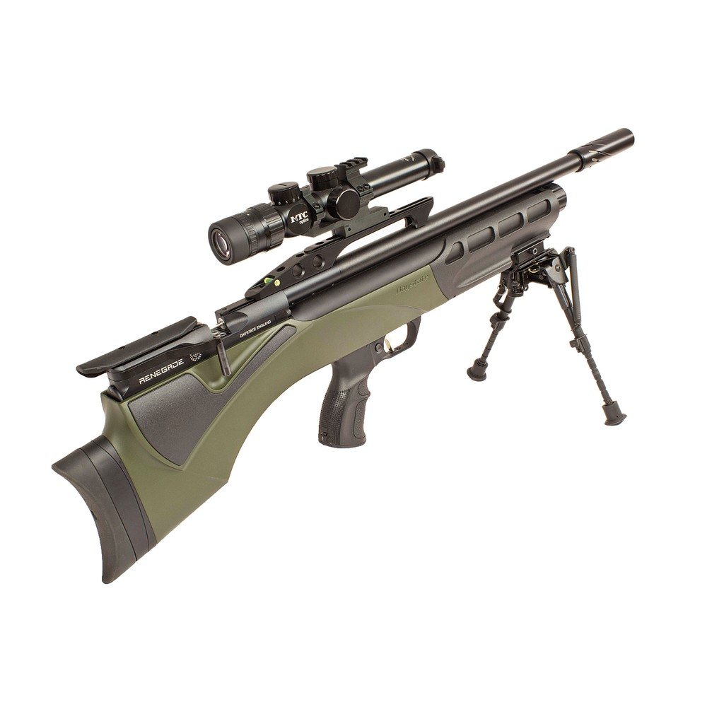 Daystate Pre-Owned  Renegade Green Synthetic Air Rifle - .177