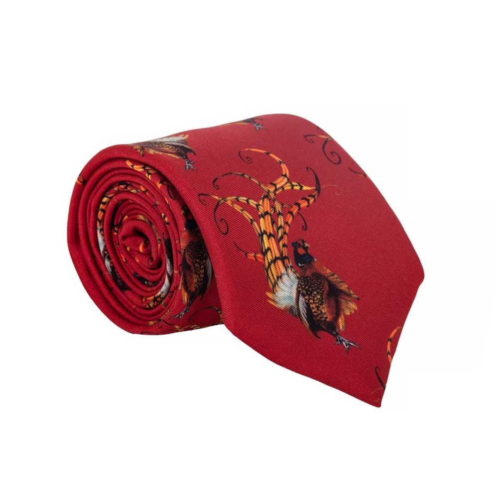 Clare Haggas Clare Haggas Bruce Tie - Royal Red