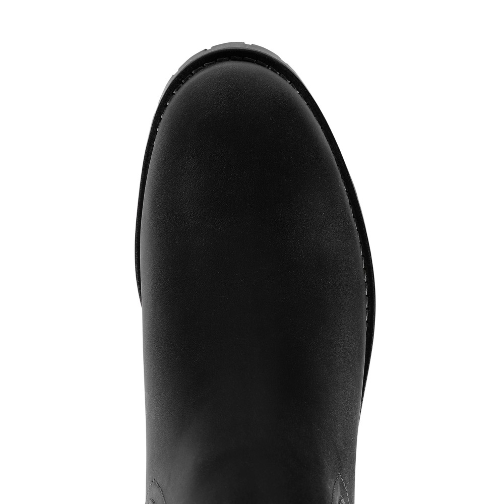 Fairfax & Favor Boudica Shearling Lined Ankle Boot Black