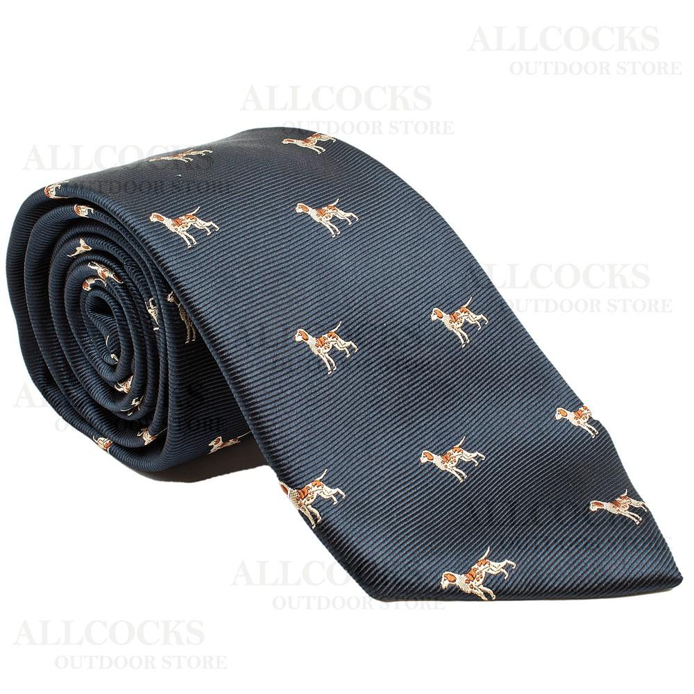 Allcocks Country Silk Tie - Pointer