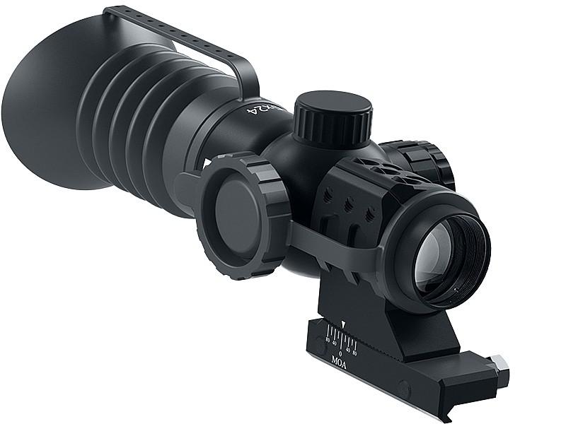 Immersive Optics Rifle Scope - 5x24 - Mil-Dot