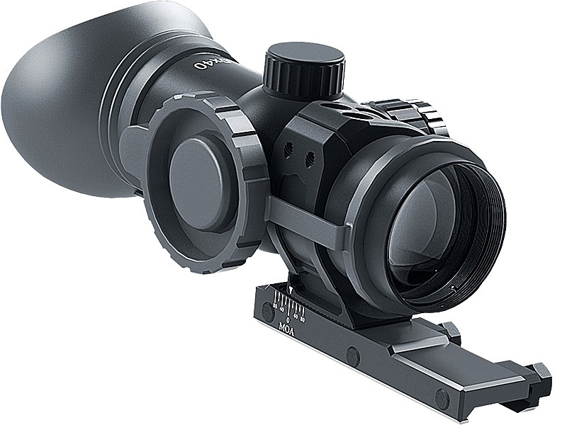 Immersive Optics Rifle Scope - 10x40 - Mil-Dot