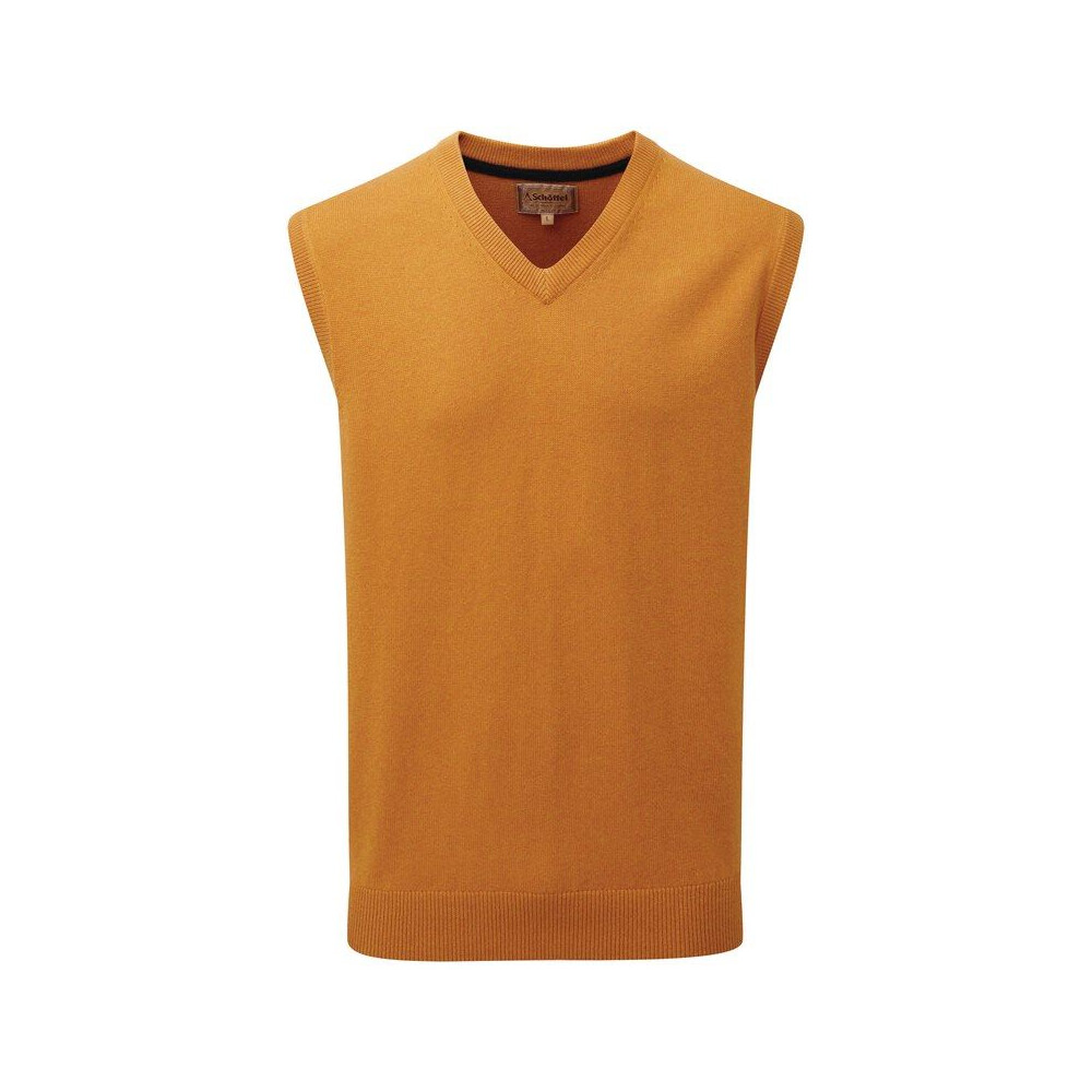 Schoffel Cotton Cashmere Sleeveless V-Neck Jumper