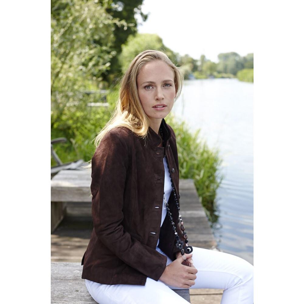 Anna Lascata Anna Lascata Emily Mandarin Jacket (EU34)