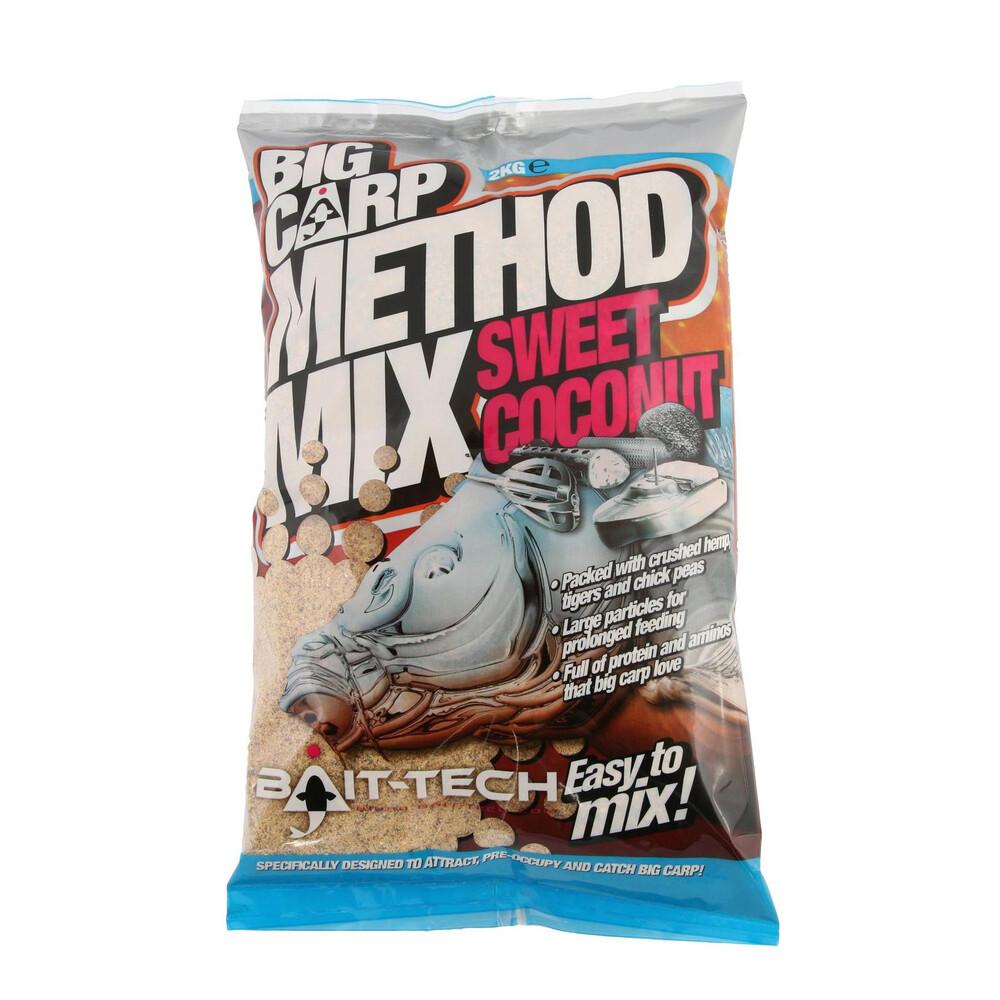 Bait-Tech Big Carp Method Mix - Sweet Coconut Unknown