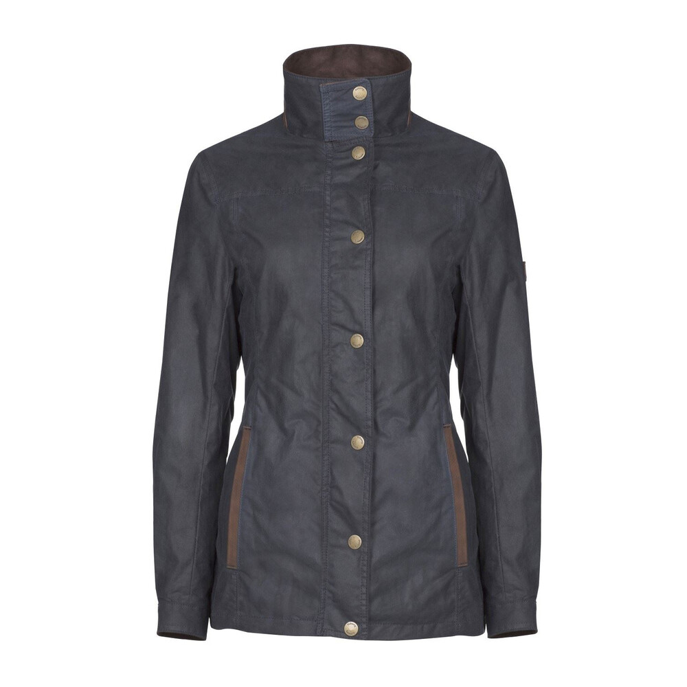 Dubarry Mountrath Waxed Cotton Jacket - Navy