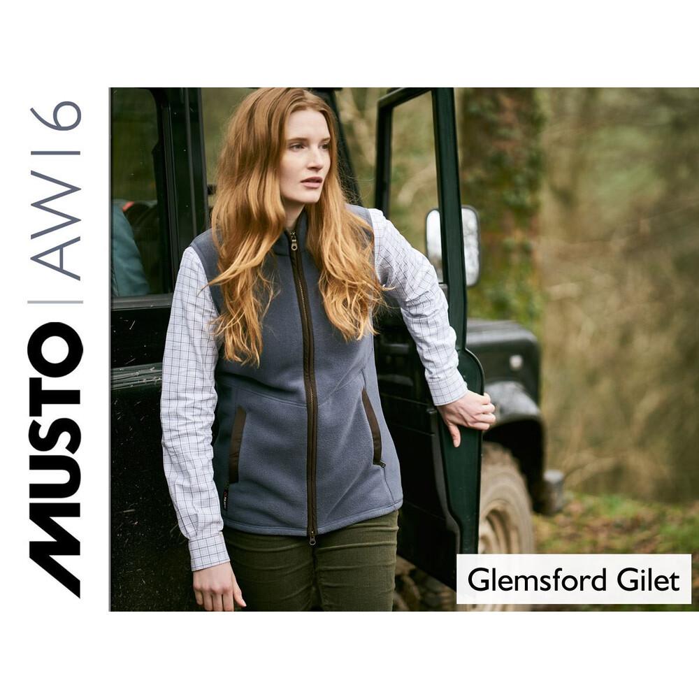 Musto Womens Glemsford Polartec Fleece Gilet -  Lake Blue