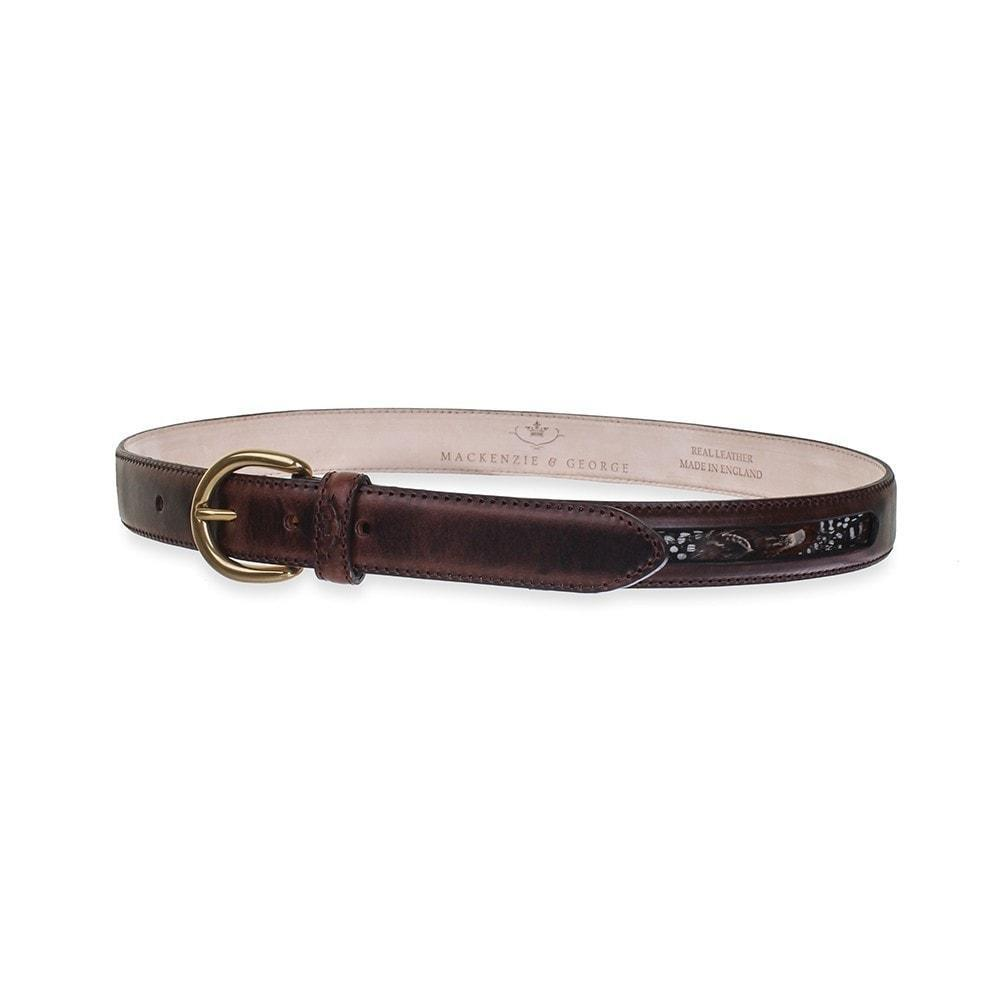 Mackenzie & George Mackenzie & George Drayton Belt - Chocolate