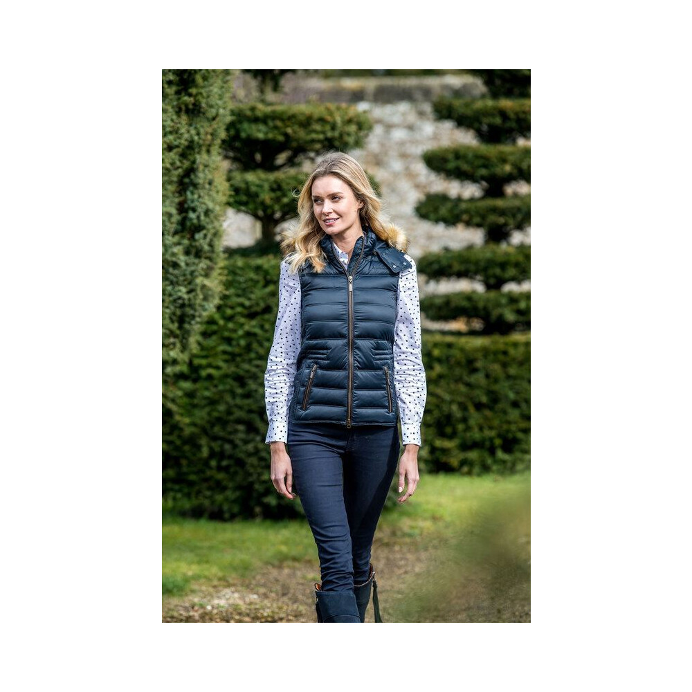 Schoffel Chelsea Down Gilet with Hood - Navy Navy