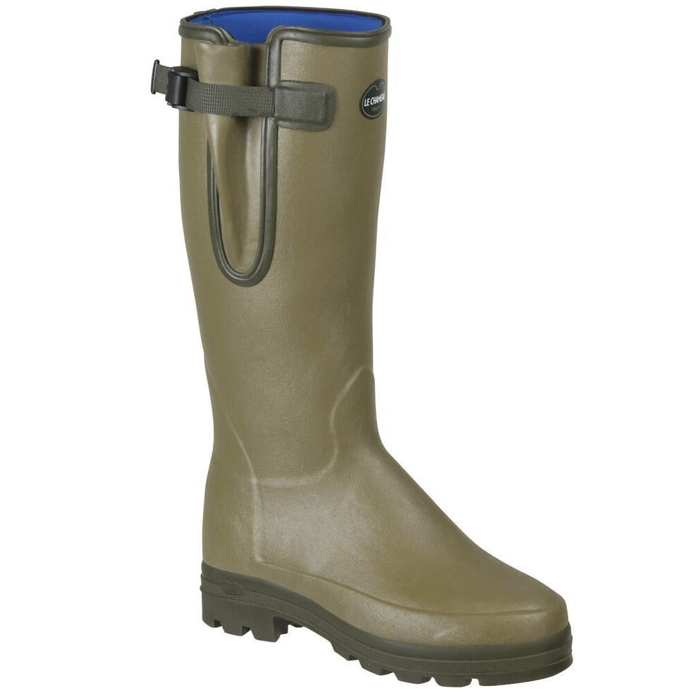 Le Chameau Vierzonord XL Neoprene Lined Wellington Boots - Light Green Light Green