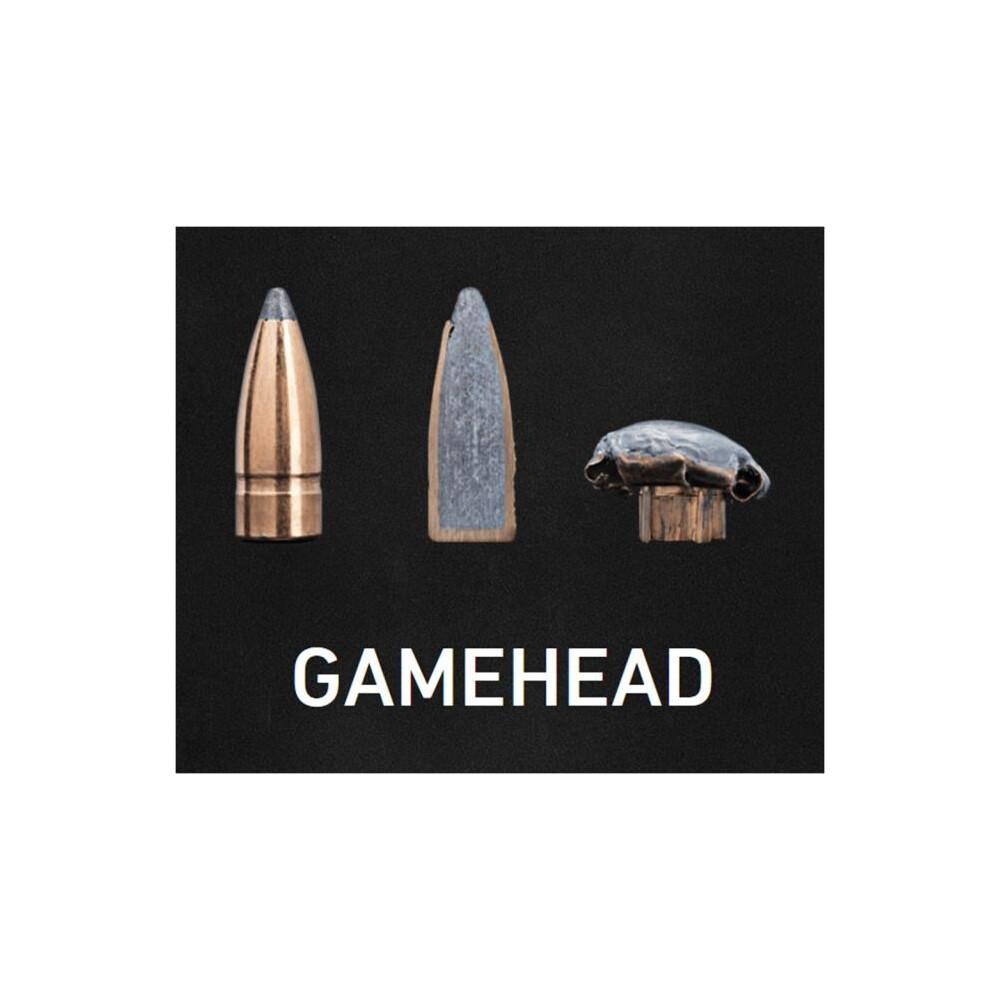 Sako .243 Ammunition - 90gr Gamehead Unknown