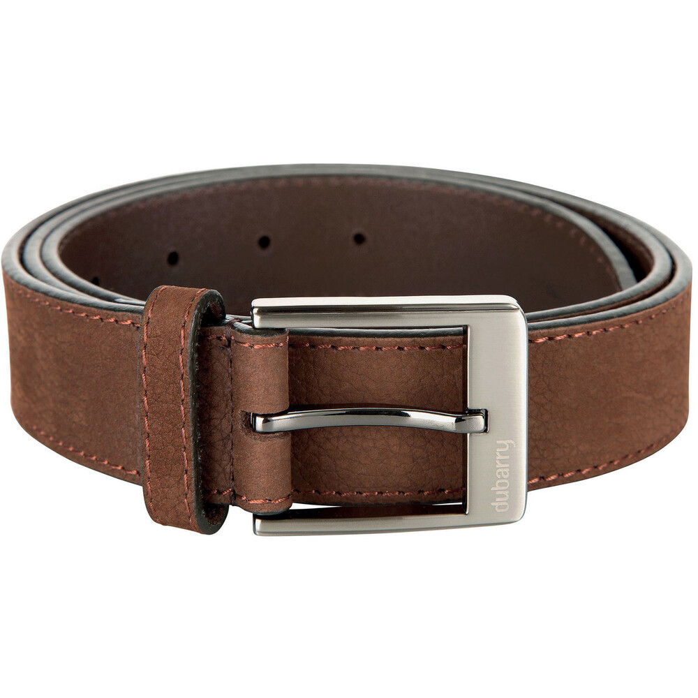 "Dubarry Dubarry Leather Belt - Walnut - Size 32""/34"""