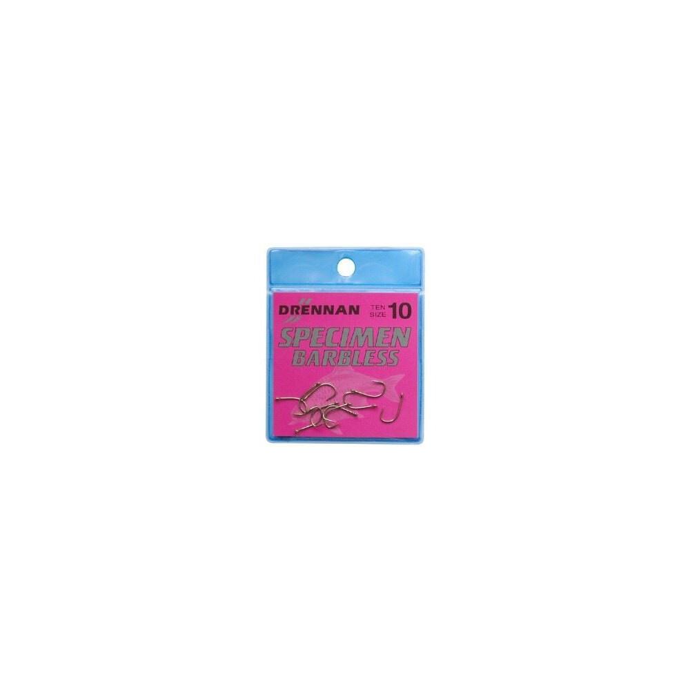 Drennan Specimen Hooks - Barbless