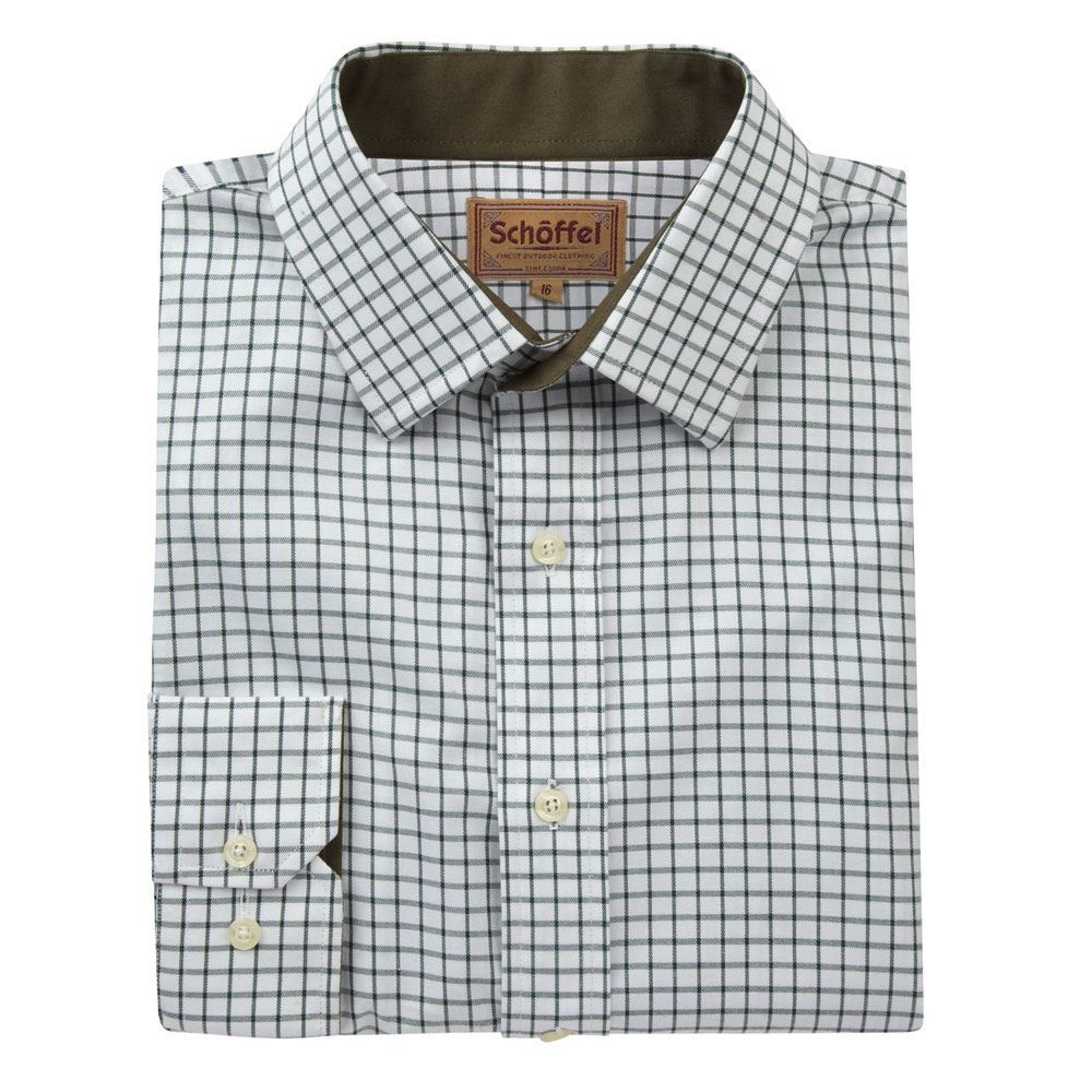 Schoffel Schoffel Cambridge Shirt - Dark Olive