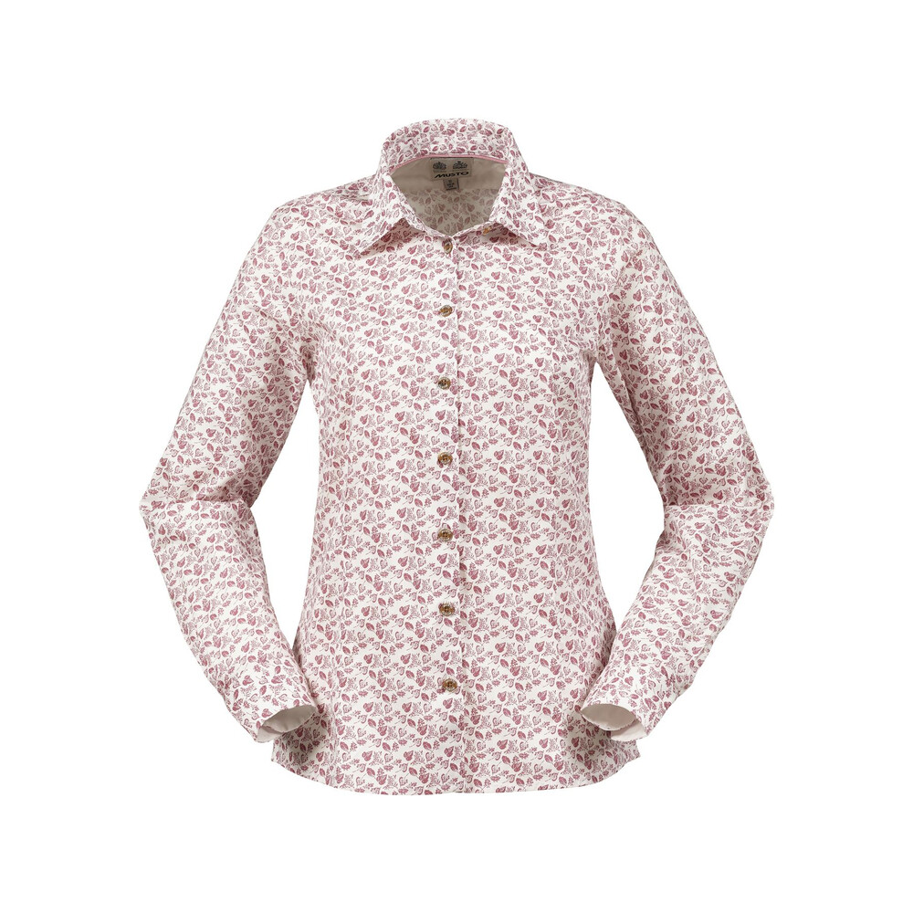 Musto Musto Country Printed Women's Shirt - Rose Leaf