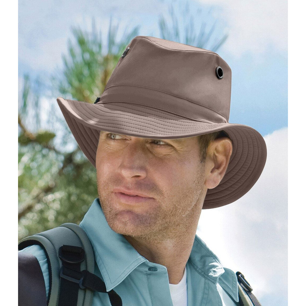 Tilley LT5B Breathable Nylon Hat - Taupe Brown