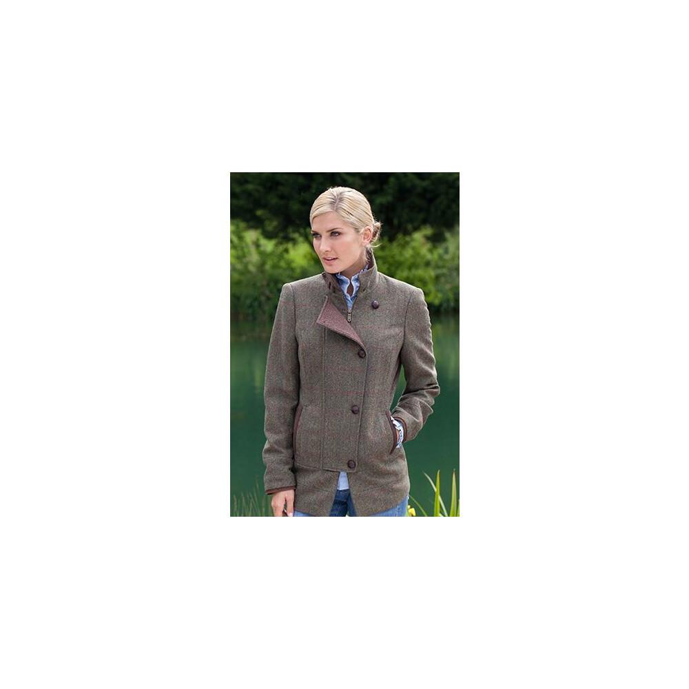 Dubarry Willow Tweed Jacket - Moss Moss