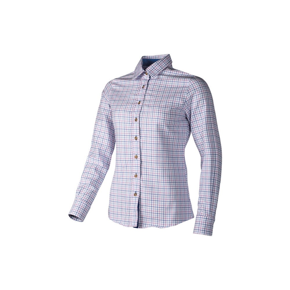 Baleno Baleno Nina Ladies Shirt - Pink/Blue Check