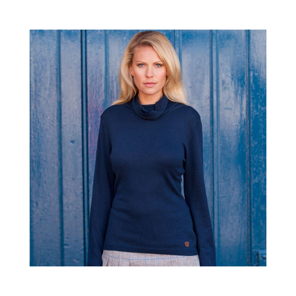 Dubarry Redmond Roll Neck Sweater - Navy Navy