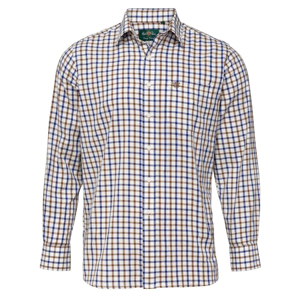 Alan Paine Alan Paine Ilkley Mens Shirt - /Navy