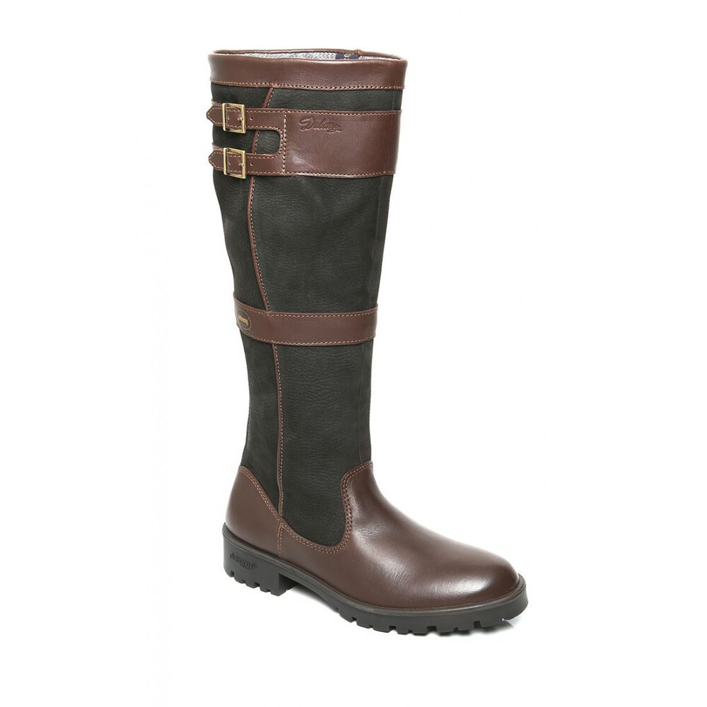 Dubarry Longford Knee-High Boot - Black/Brown