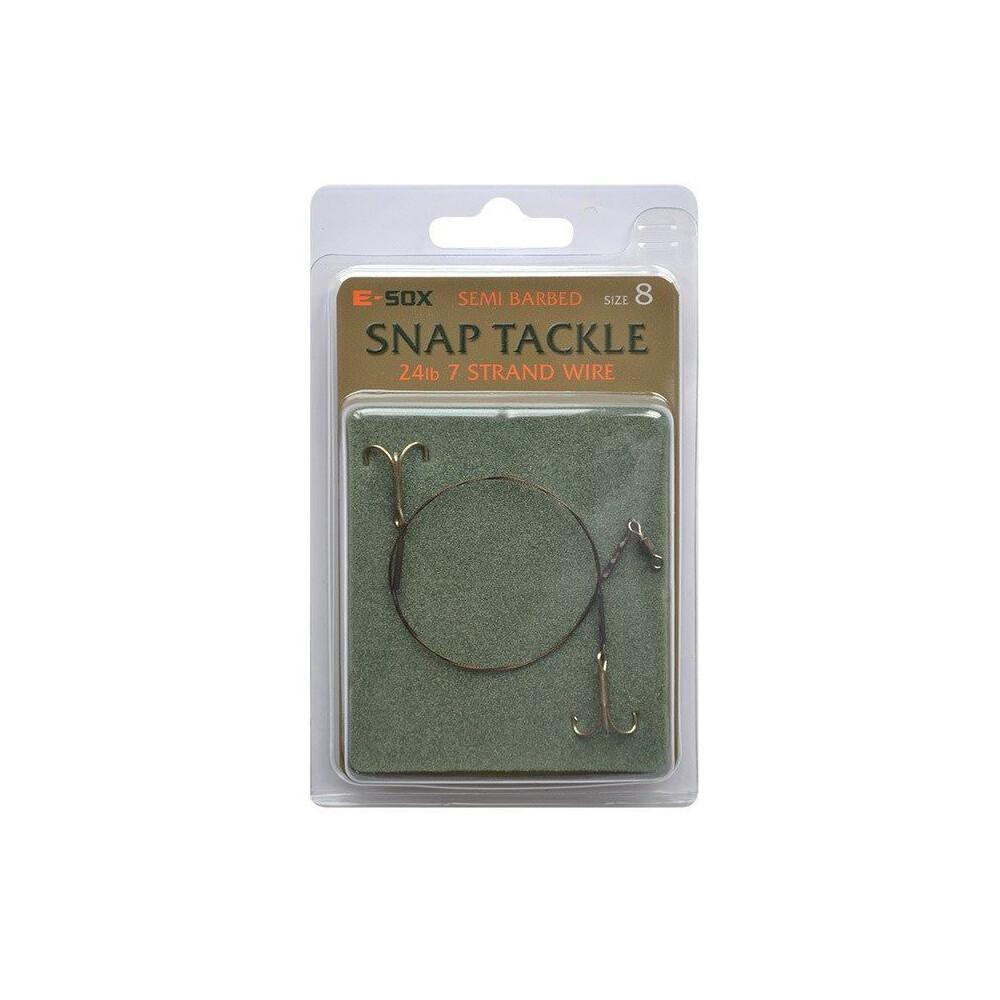 Drennan E-Sox Snap Tackle - Barbed & Semi Barbed Metallic
