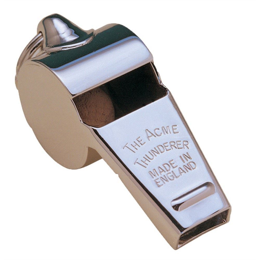 Acme Thunderer Whistle - Nickel