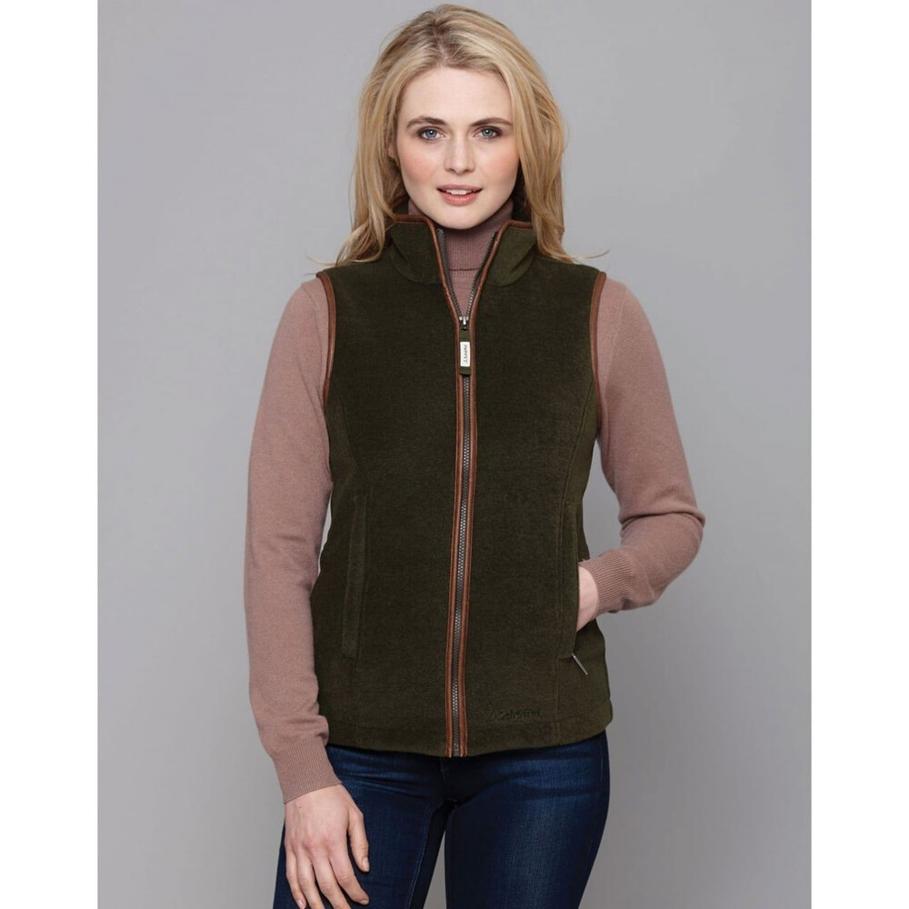 Schoffel Lyndon Fleece Gilet - Forest Forest