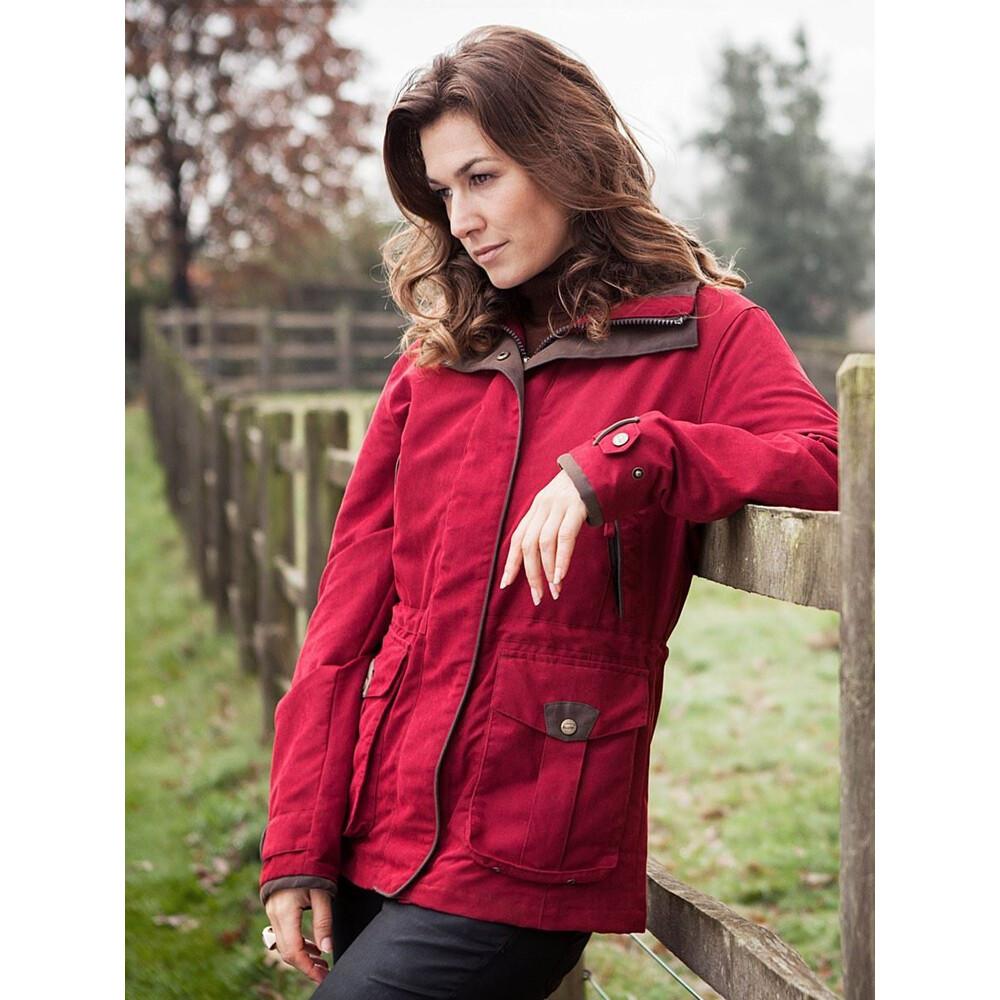 Baleno Ascot 4 Seasons Ladies Jacket Burgundy