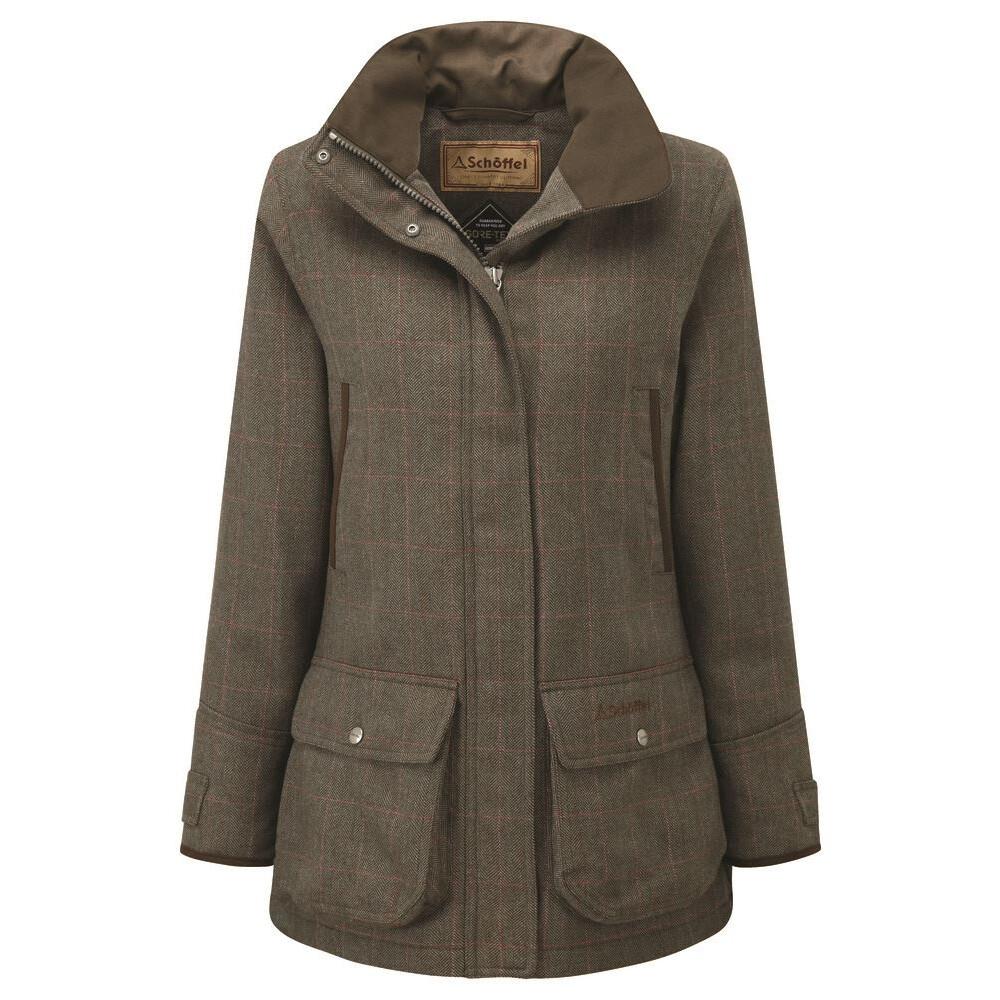 Schoffel Ptarmigan Ladies Tweed Coat